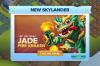 Lost Islands Monday: Jade Fire Kraken's CatchingFire